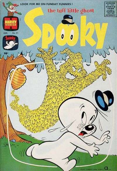 Spooky #51 comic books - cover scans photos Spooky #51 comic books - covers, picture gallery