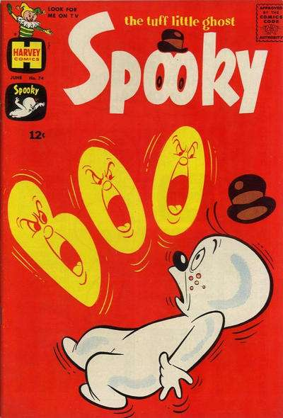 Spooky #74 Comic Books - Covers, Scans, Photos  in Spooky Comic Books - Covers, Scans, Gallery