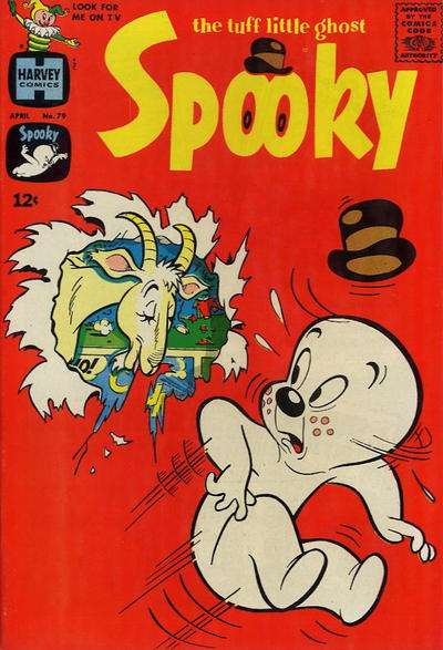 Spooky #79 Comic Books - Covers, Scans, Photos  in Spooky Comic Books - Covers, Scans, Gallery