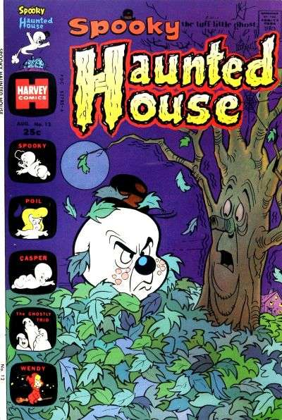 Spooky Haunted House #12 comic books - cover scans photos Spooky Haunted House #12 comic books - covers, picture gallery