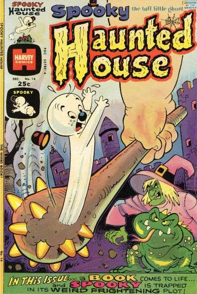 Spooky Haunted House #14 comic books - cover scans photos Spooky Haunted House #14 comic books - covers, picture gallery