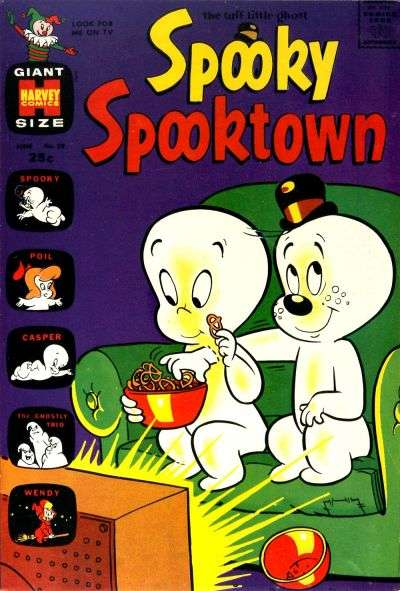 Spooky Spooktown #29 comic books for sale