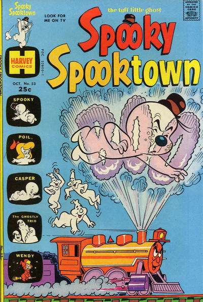 Spooky Spooktown #53 comic books - cover scans photos Spooky Spooktown #53 comic books - covers, picture gallery