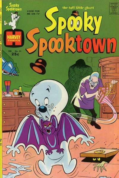 Spooky Spooktown #55 comic books for sale