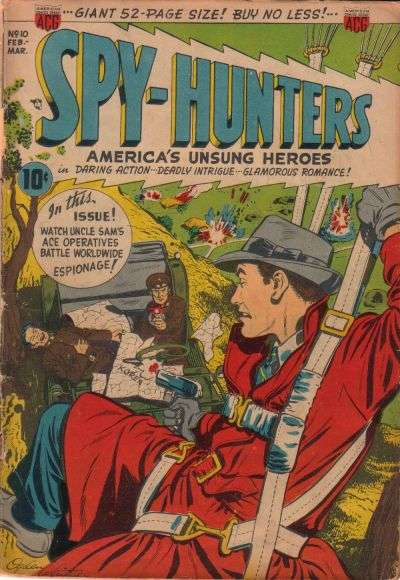 Spy-Hunters #10 comic books - cover scans photos Spy-Hunters #10 comic books - covers, picture gallery