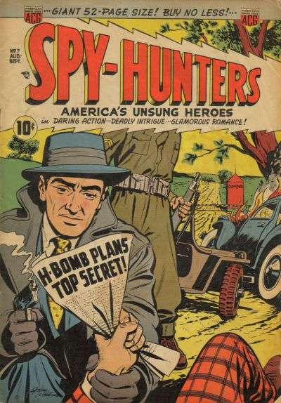 Spy-Hunters #7 comic books for sale