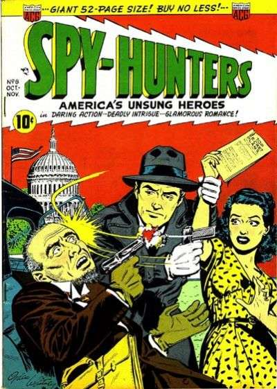 Spy-Hunters #8 Comic Books - Covers, Scans, Photos  in Spy-Hunters Comic Books - Covers, Scans, Gallery