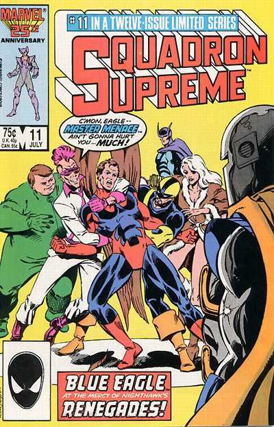 Squadron Supreme #11 Comic Books - Covers, Scans, Photos  in Squadron Supreme Comic Books - Covers, Scans, Gallery