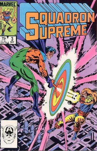 Squadron Supreme #3 Comic Books - Covers, Scans, Photos  in Squadron Supreme Comic Books - Covers, Scans, Gallery