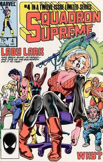 Squadron Supreme #4 comic books for sale