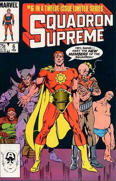 Squadron Supreme #6 Comic Books - Covers, Scans, Photos  in Squadron Supreme Comic Books - Covers, Scans, Gallery