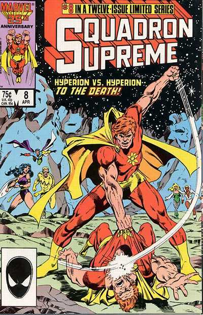 Squadron Supreme #8 Comic Books - Covers, Scans, Photos  in Squadron Supreme Comic Books - Covers, Scans, Gallery