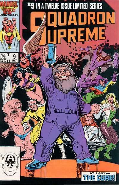 Squadron Supreme #9 Comic Books - Covers, Scans, Photos  in Squadron Supreme Comic Books - Covers, Scans, Gallery