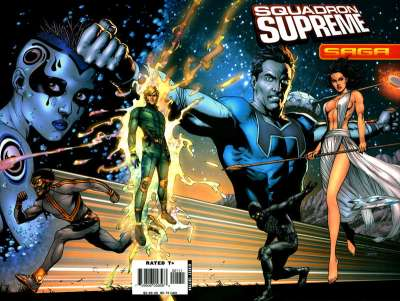 Squadron Supreme #1 comic books - cover scans photos Squadron Supreme #1 comic books - covers, picture gallery