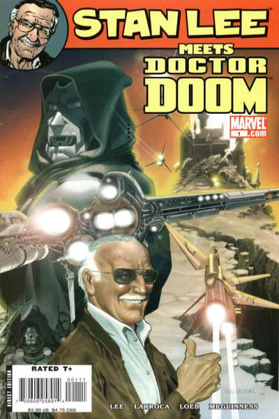 Stan Lee Meets Doctor Doom #1 comic books for sale