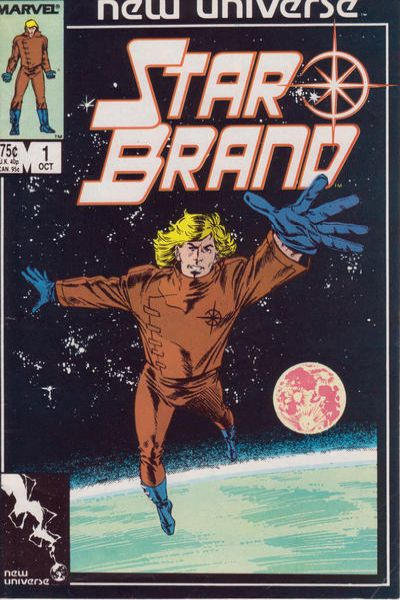 Star Brand #1 comic books - cover scans photos Star Brand #1 comic books - covers, picture gallery