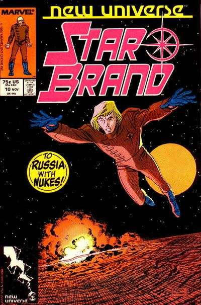 Star Brand #10 comic books - cover scans photos Star Brand #10 comic books - covers, picture gallery
