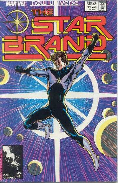 Star Brand #11 comic books - cover scans photos Star Brand #11 comic books - covers, picture gallery