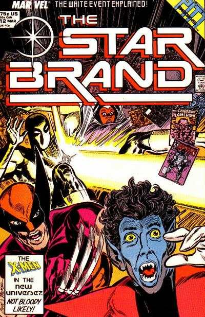 Star Brand #12 comic books - cover scans photos Star Brand #12 comic books - covers, picture gallery