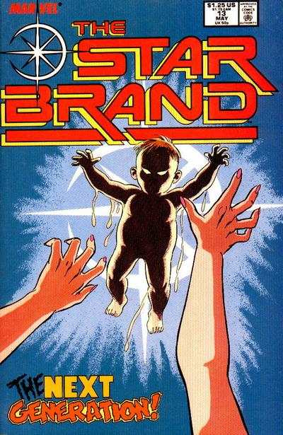 Star Brand #13 comic books - cover scans photos Star Brand #13 comic books - covers, picture gallery