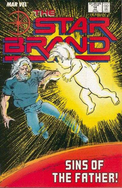 Star Brand #14 comic books - cover scans photos Star Brand #14 comic books - covers, picture gallery