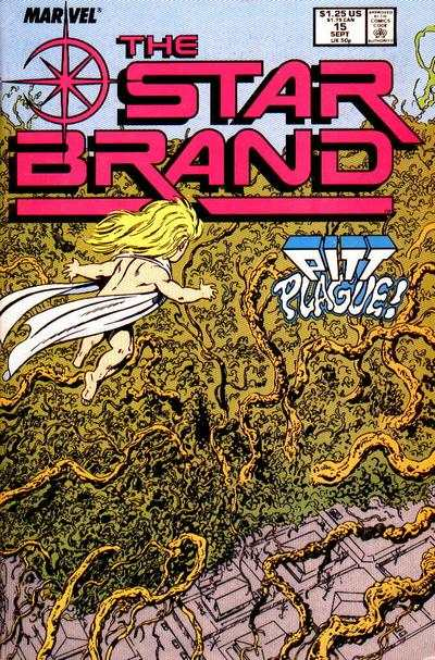 Star Brand #15 comic books - cover scans photos Star Brand #15 comic books - covers, picture gallery