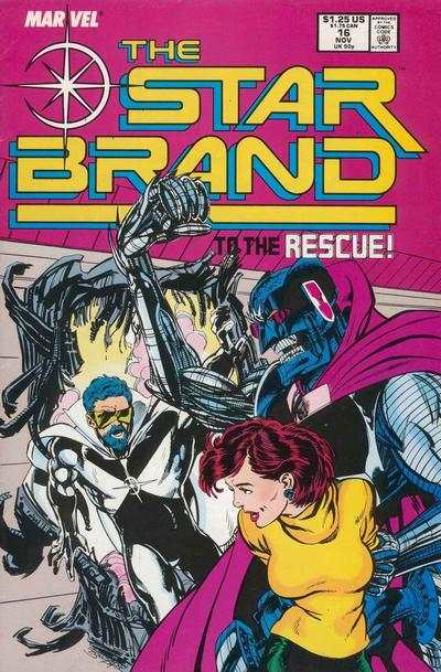 Star Brand #16 comic books - cover scans photos Star Brand #16 comic books - covers, picture gallery