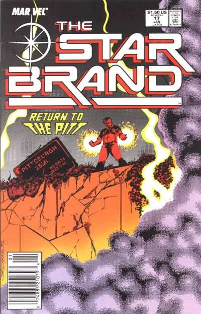Star Brand #17 comic books - cover scans photos Star Brand #17 comic books - covers, picture gallery
