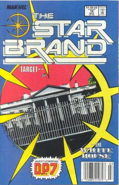 Star Brand #18 comic books for sale