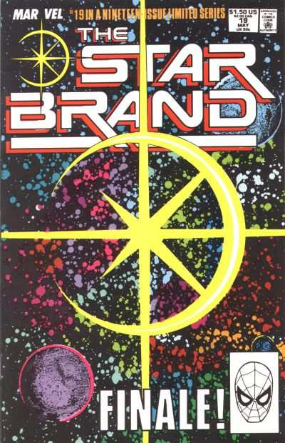 Star Brand #19 comic books - cover scans photos Star Brand #19 comic books - covers, picture gallery