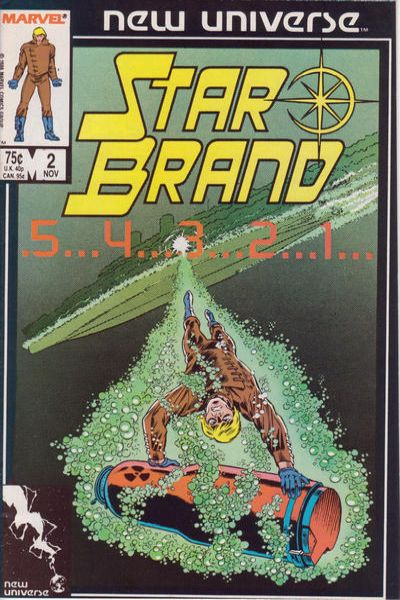 Star Brand #2 comic books - cover scans photos Star Brand #2 comic books - covers, picture gallery