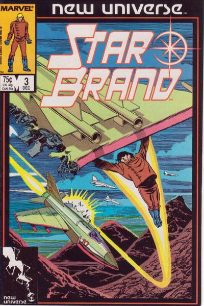 Star Brand #3 comic books - cover scans photos Star Brand #3 comic books - covers, picture gallery
