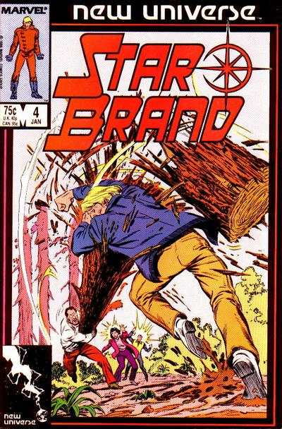 Star Brand #4 comic books - cover scans photos Star Brand #4 comic books - covers, picture gallery