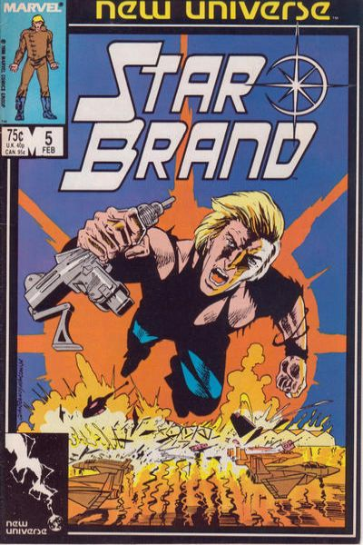 Star Brand #5 comic books - cover scans photos Star Brand #5 comic books - covers, picture gallery