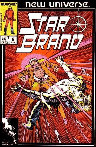 Star Brand #6 comic books - cover scans photos Star Brand #6 comic books - covers, picture gallery