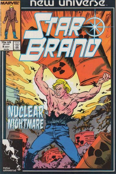 Star Brand #8 comic books - cover scans photos Star Brand #8 comic books - covers, picture gallery