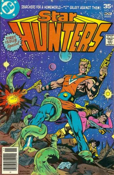 Star Hunters #1 comic books for sale