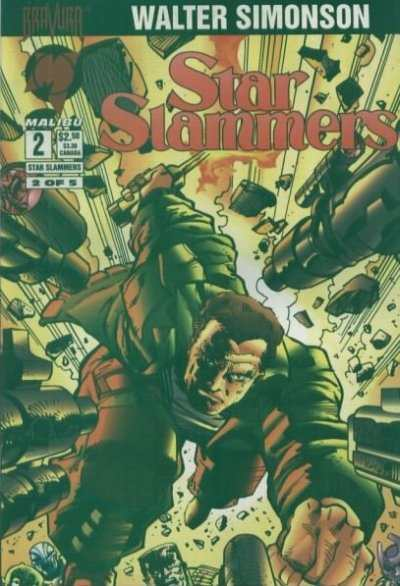 Star Slammers #2 Comic Books - Covers, Scans, Photos  in Star Slammers Comic Books - Covers, Scans, Gallery