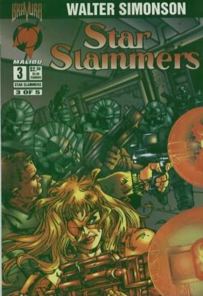 Star Slammers #3 Comic Books - Covers, Scans, Photos  in Star Slammers Comic Books - Covers, Scans, Gallery