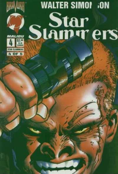 Star Slammers #4 Comic Books - Covers, Scans, Photos  in Star Slammers Comic Books - Covers, Scans, Gallery