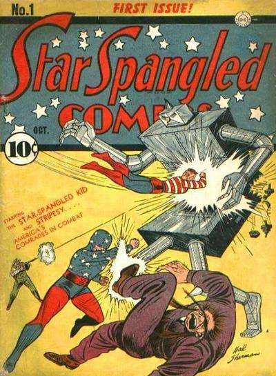 Star Spangled Comics comic books
