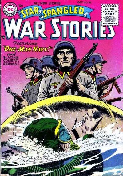 Star Spangled War Stories #38 Comic Books - Covers, Scans, Photos  in Star Spangled War Stories Comic Books - Covers, Scans, Gallery