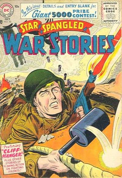 Star Spangled War Stories #50 Comic Books - Covers, Scans, Photos  in Star Spangled War Stories Comic Books - Covers, Scans, Gallery