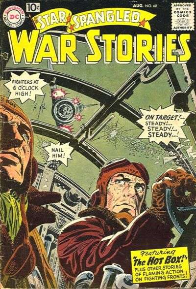 Star Spangled War Stories #60 comic books for sale