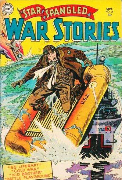 Star Spangled War Stories #25 Comic Books - Covers, Scans, Photos  in Star Spangled War Stories Comic Books - Covers, Scans, Gallery