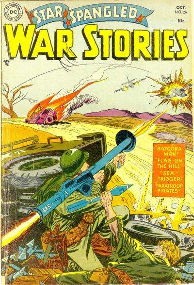Star Spangled War Stories #26 Comic Books - Covers, Scans, Photos  in Star Spangled War Stories Comic Books - Covers, Scans, Gallery