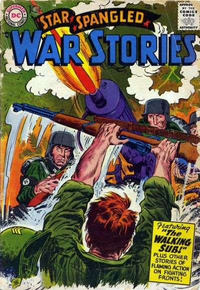 Star Spangled War Stories #56 comic books for sale