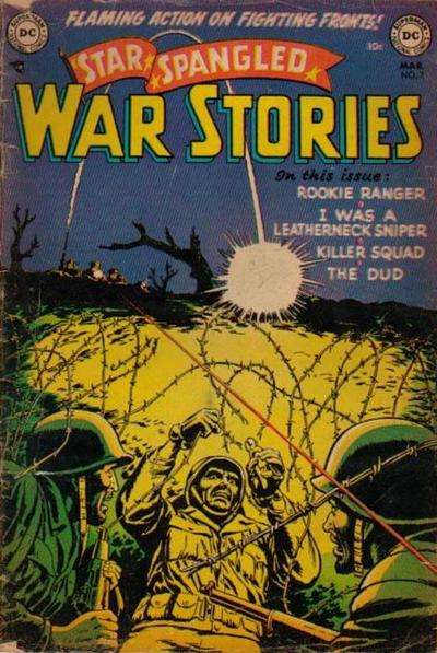 Star Spangled War Stories #7 Comic Books - Covers, Scans, Photos  in Star Spangled War Stories Comic Books - Covers, Scans, Gallery