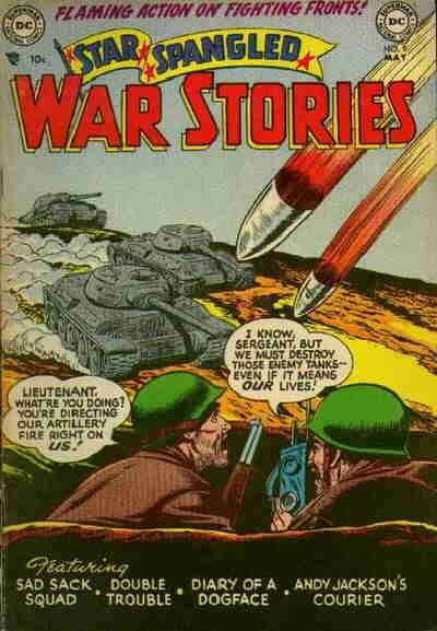 Star Spangled War Stories #9 comic books for sale