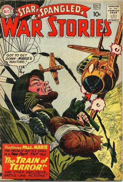 Star Spangled War Stories #91 comic books for sale